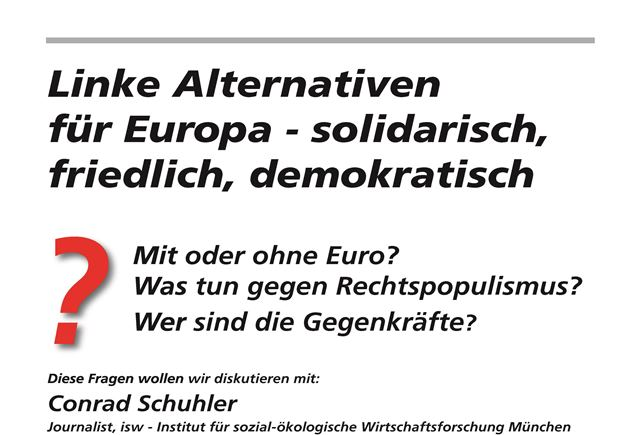 Alternativen für Europa